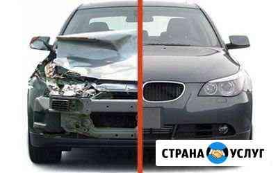 Кузовной ремонт авто,покраска авто,полировка Горно-Алтайск