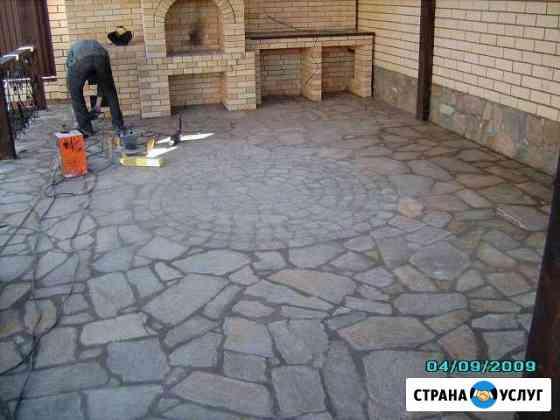 Плитка тротуарная, асфальт, бетонные дорожки Пермь