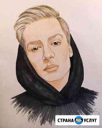 Портрет по фото Ярославль