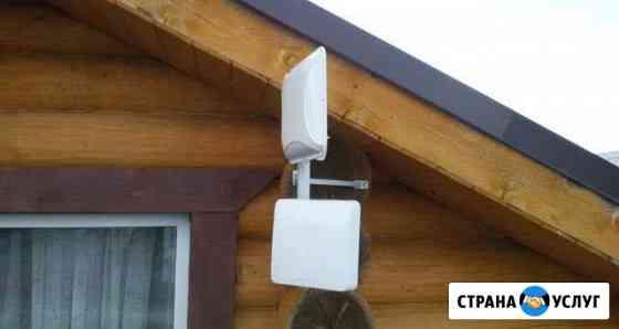 Интернет, видеонаблюдение и телефония за городом Данилов
