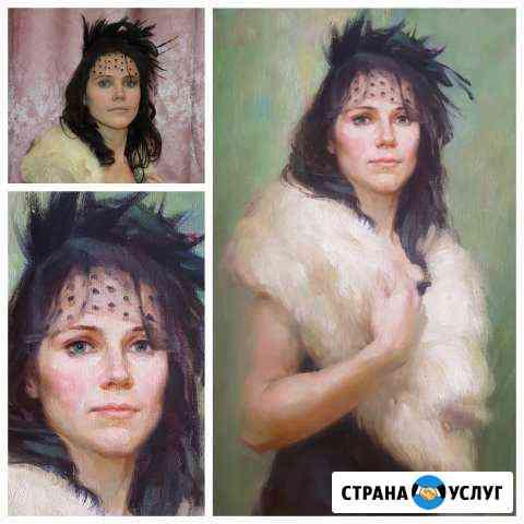 Портрет маслом на заказ, живопись Санкт-Петербург