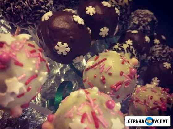 Пирожные (торт) на палочке (саke-pops) Владимир