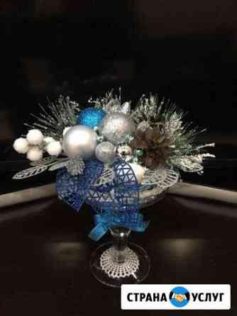 Декорированный конфетами стакан Санкт-Петербург