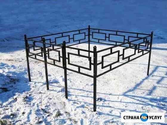 Оградки на кладбища Красногородск