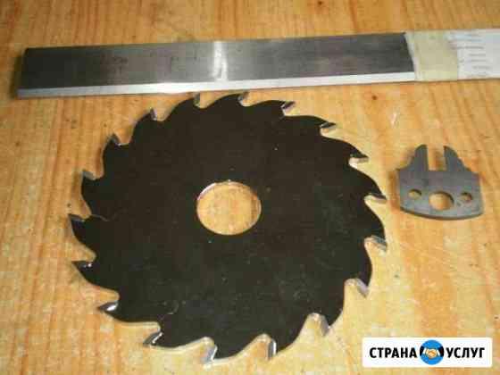 Затачиваю столярный инструмент Калининград