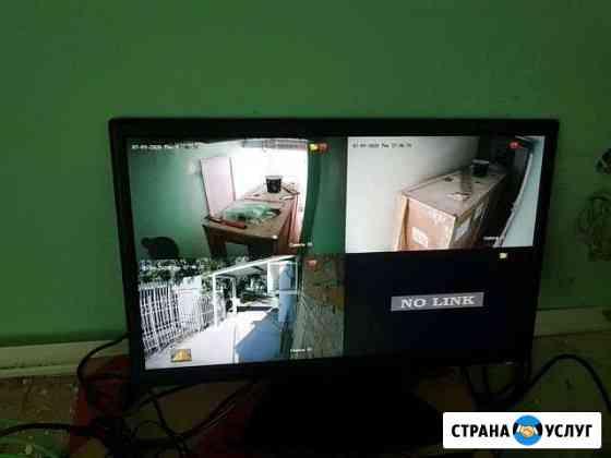 Монтаж видеонаблюдения Пласт