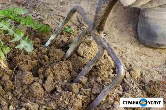 Разнорабочие,Вскопаем огород,покос травы Рыбинск