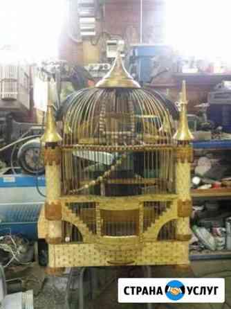 Клетки для птиц ручной работы Ставрополь