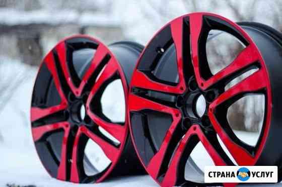 Порошковая покраска дисков Пескоструйная обработка Иркутск