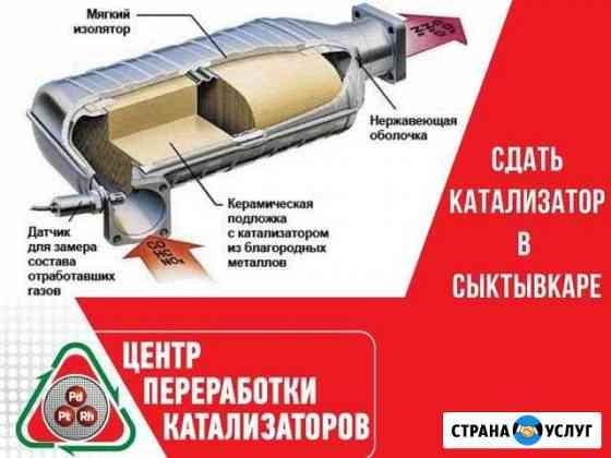 Прием, скупка катализаторов Сыктывкар