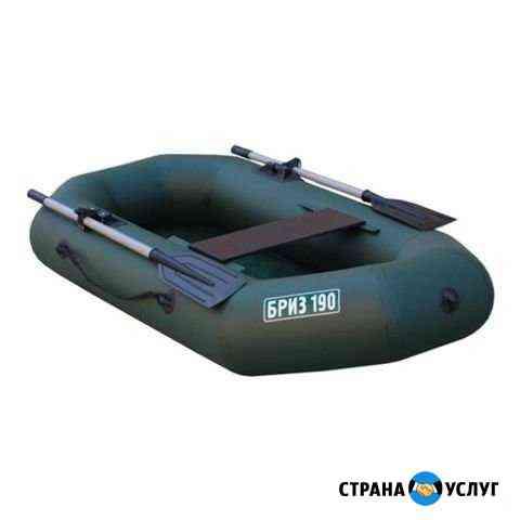 Аренда Лодка Бриз 190 (с веслами) Тонар Барнаул