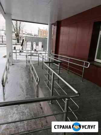 Перила из нержавеющей стали без посредников Рыбинск