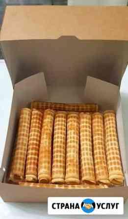 Домашние вкуснейшие трубочки и вафельные рожки Сургут