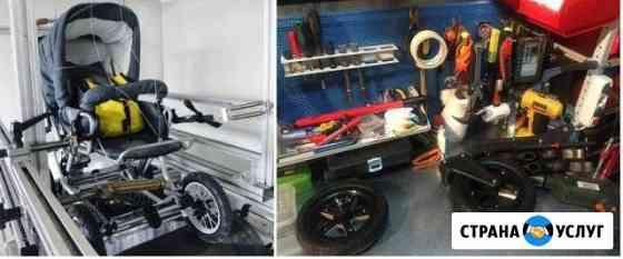 Ремонт детских колясок, восстановление пластика, к Барнаул