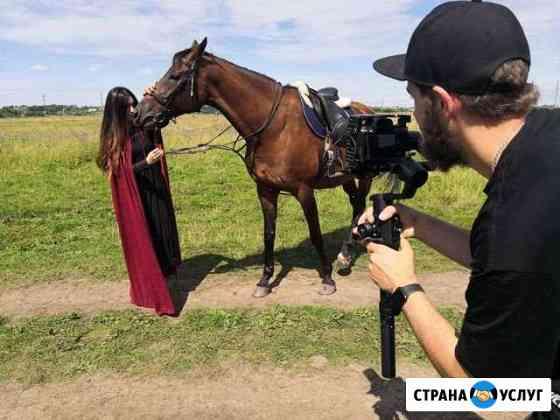 Видео съемка клипа и рекламных роликов Владимир