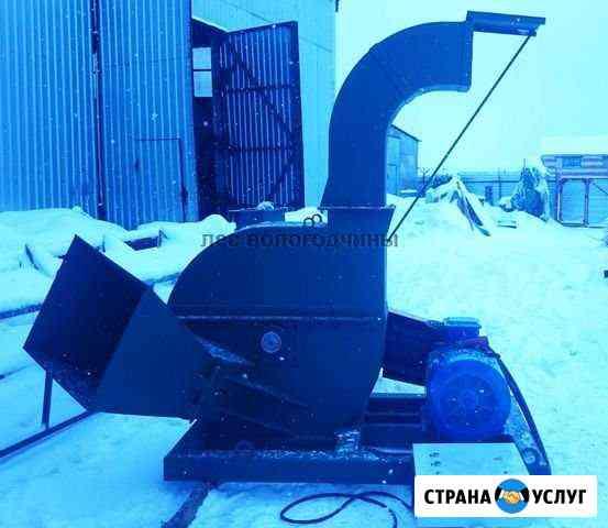 Аренда рубительной машины (измельчитель древесины) Вологда
