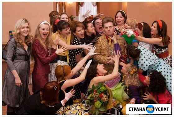 Тамада - ведущая на свадьбу, юбилей Вологда Вологда