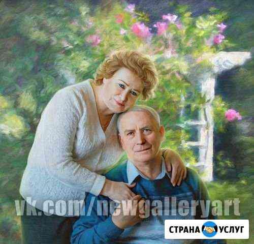 Портреты по фото на холсте Владимир