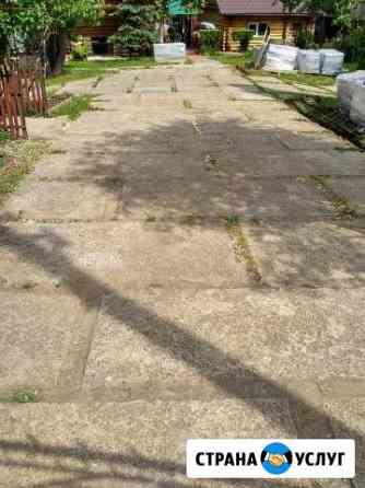 Укладка тротуарной плитки, фундамент, кровля Великий Новгород