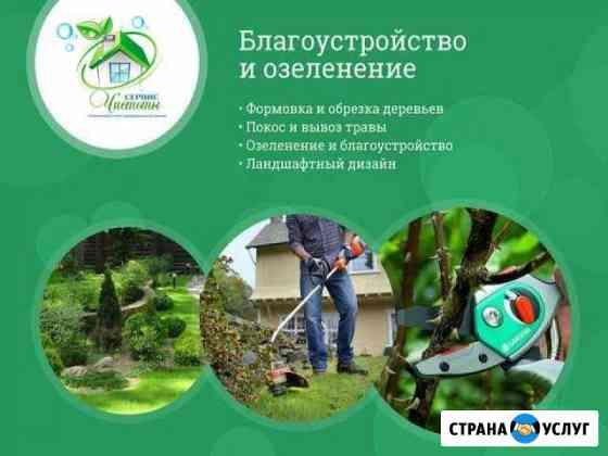 Спил деревьев / скос травы / благоустройство Воронеж