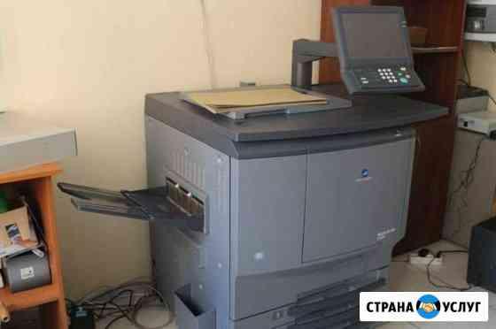 Печать флаеров, листовок, визиток, брошюр, меню Ростов-на-Дону