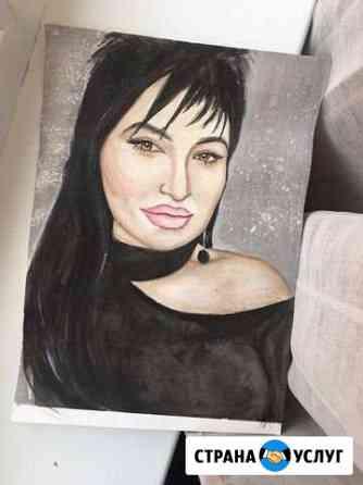 Портрет по фото Владикавказ
