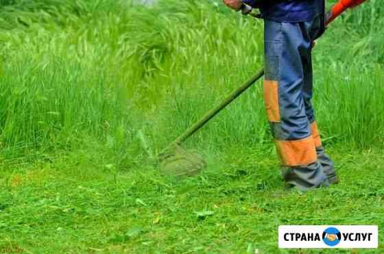 Покос травы Кирово-Чепецк