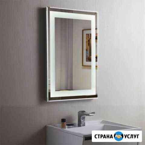 Установка зеркал, стекла,склейка уфк Киров