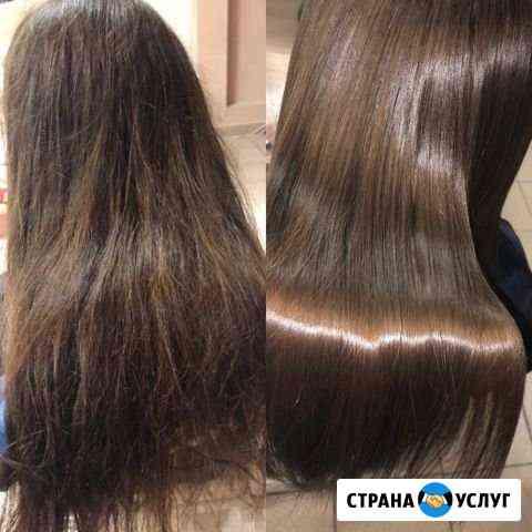 Кератиновое выпрямление и восстановление волос Череповец