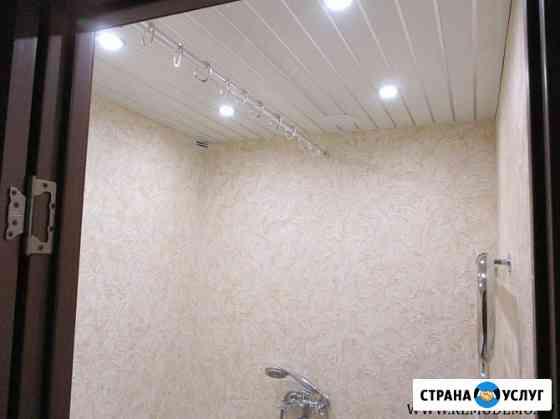 Ремонт ванны и туалета декоративной штукатуркой Пермь