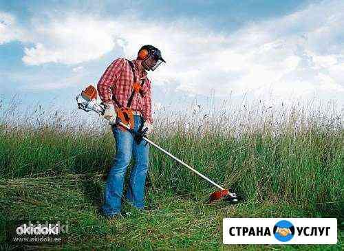 Спил деревьев, покос травы Калуга