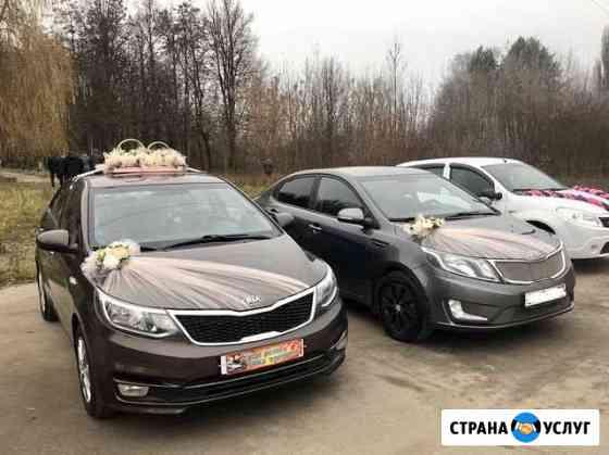 Аренда авто на свадьбу с украшением Орёл