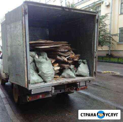 Вывоз мусора. Очистка участка. Демонтажные работы Волгоград