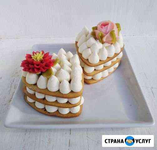 Торты, пирожные и прочие десерты на заказ Краснодар