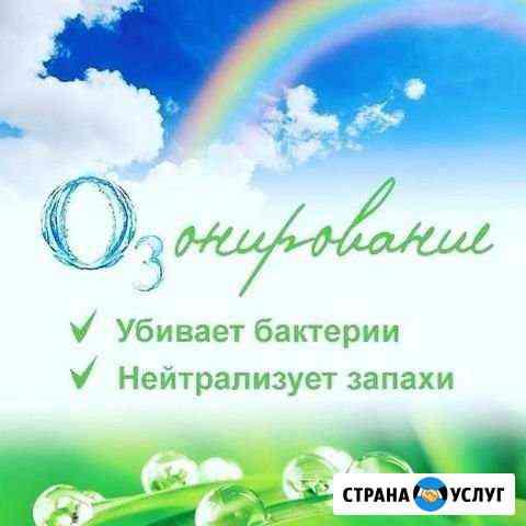 Дезинфекция озоном Нижневартовск