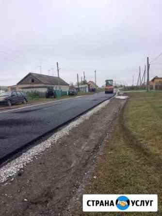 Благоустройство асфальтирование укладка тротуарной Новосибирск