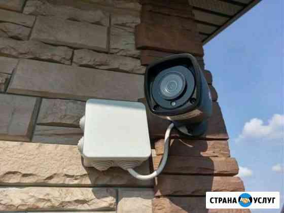 Видеонаблюдение,сигнализация,интернет,видеодомофон Казань