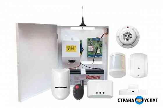 Охранная сигнализация GSM, Ethernet, WI-FI Новомосковск