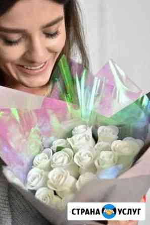 Съедобные Розы флористика, полезные букеты Сургут