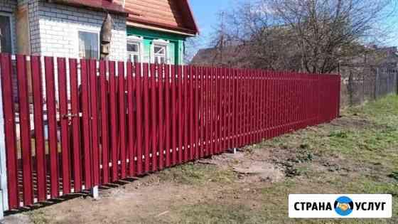 Заборы из евроштакетника Владимир