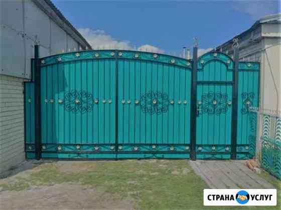 Изготовление ворот, дверей. Сварим на заказ Комсомольск-на-Амуре