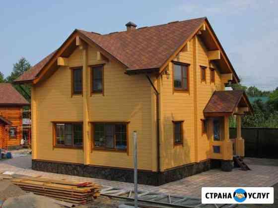 Строительство домов/коттеджей/бань Петропавловск-Камчатский