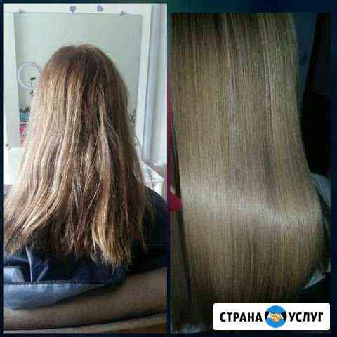 Кератиновое выпрямление волос Псков