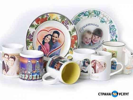 Посуда с изображением Волгоград