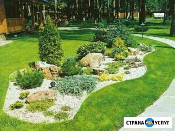 Ландшафтный дизайн, благоустройство Калининград
