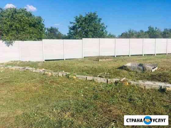 Покос травы Спил деревьев Культивация земли Симферополь