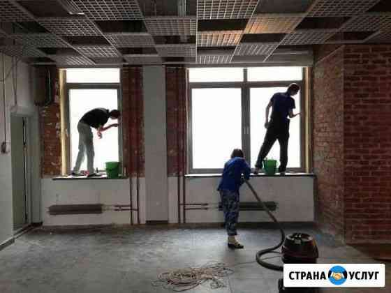 Уборка после ремонта под ключ Барнаул
