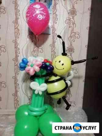 Цветы из воздушных шаров Омск