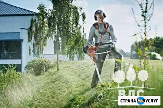 Покос травы и стрижка газона Вологда