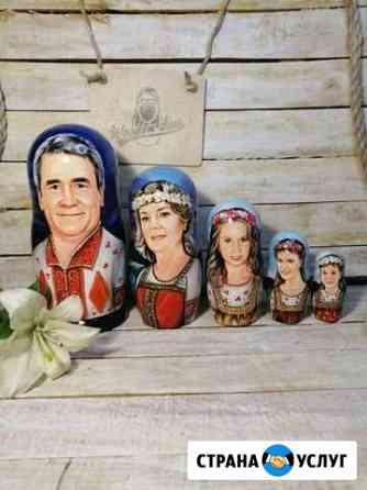 Портретные матрёшки Омск